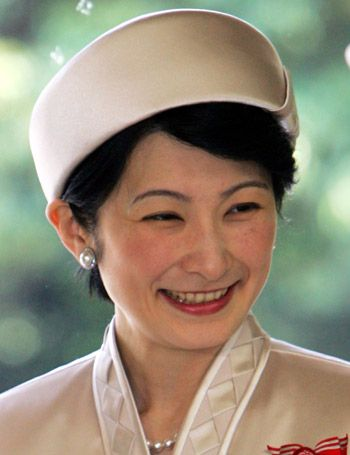 Her Imperial Highness The Princess Akishino.  Kiko, Princess Akishino, née Kiko Kawashima, born 11 September 1966, is the wife of Fumihito, Prince Akishino, the second son of Emperor Akihito and Empress Michiko of Japan. She is also known as Princess Kiko.