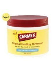 Carmex Original Healing Ointment – For Every Dry, Rough or Cracked Skin. 4 Oz