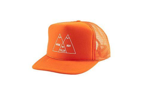 Poler Venn Diagram Trucker Hat - Burnt Orange www.westgoods.co