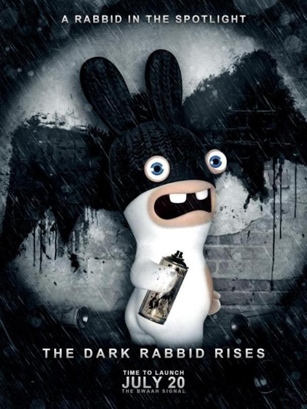 lapins cretins batman