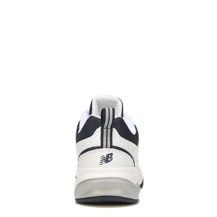 New Balance Men's 609 V3 Memory Sole Sneakers (White/Navy) - 10.0 D