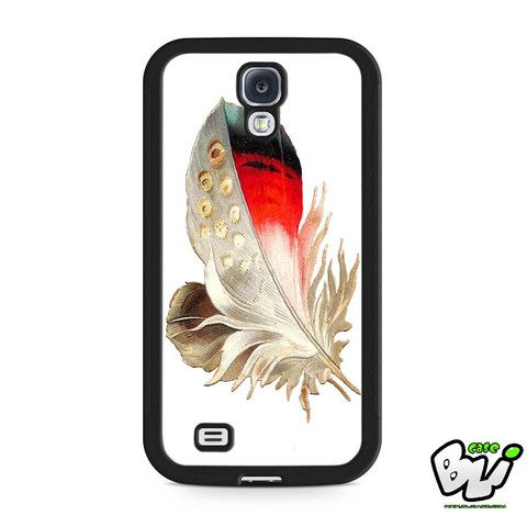 Color Feather Samsung Galaxy S4 Case