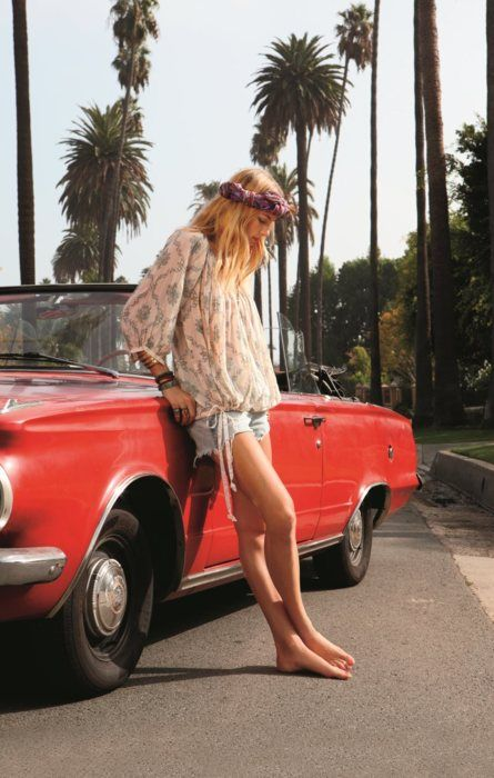 xx: Boho Chic, Fashion, California Girls, Summer Looks, Style, Vintage Cars, Free People, Roads Trips, Freepeopl
