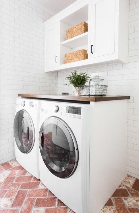 Modern laundry room | laundry room | laundry rooms | laundry room ideas | laundry rooms ideas | laundry room storage | laundry room design | laundry room organization | laundry room cabinets | https://steeltablelegs.com
