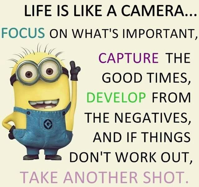I just absolutely love this. #minionquote #insparstion