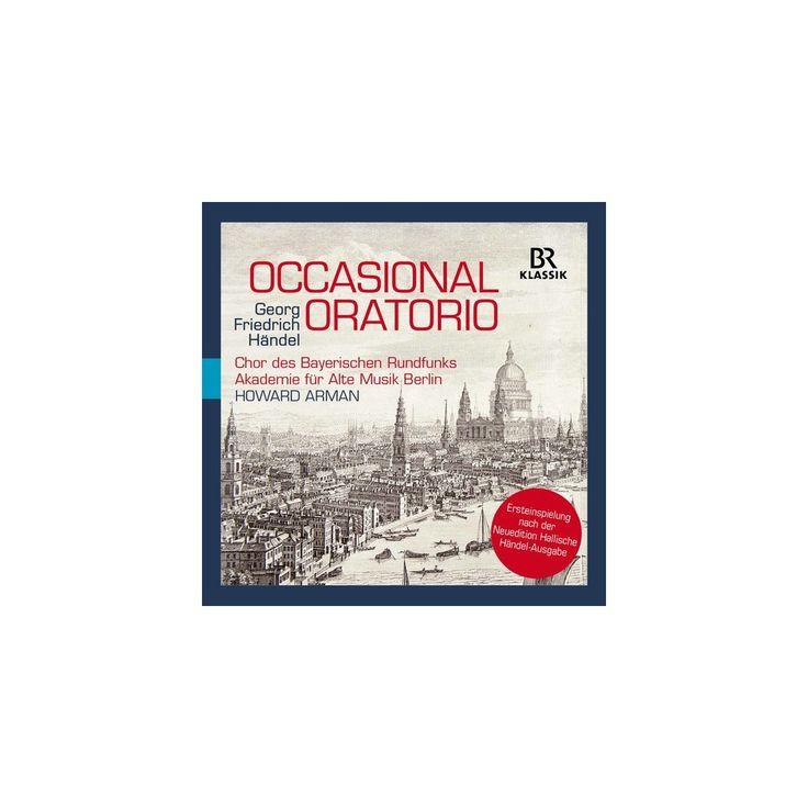Handel & Arman & Harvey - Occasional Oratorio (CD)
