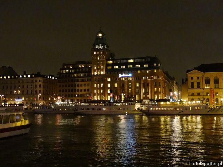 Radisson Blu Strand Hotel, Stockholm - nad woda