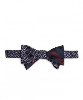 Brooks Brothers » Hombres » Humitas » Rbb navy woven keys/navy thick & thin bb#1 stripe