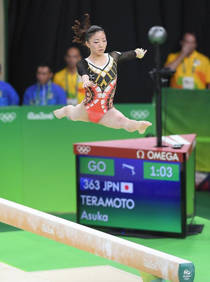 寺本明日香8位 日本女子52年ぶり個人総合入賞 #リオ五輪 #体操