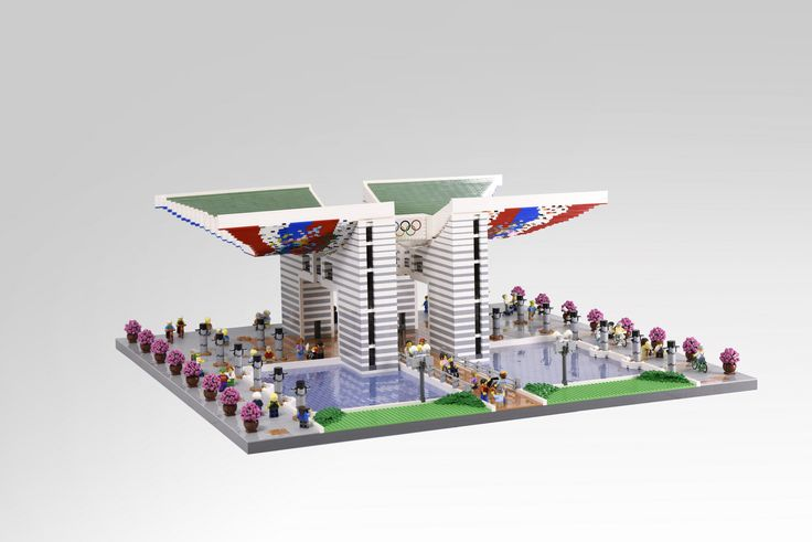 OliveSeon rendered the World Peace Gate, a symbol of peace for the 1988 Olympic games in Seoul, South Korea. The model manages to perfectly capture the