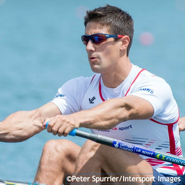 Sam Townsend - Rowing. Men's quad.