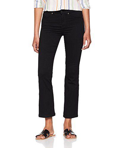 bccf655c Dr. Denim Holly Jean évasé Femme Noir (Black 101) W27/L28 | Jeans ...