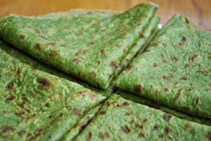 piadine di spinaci