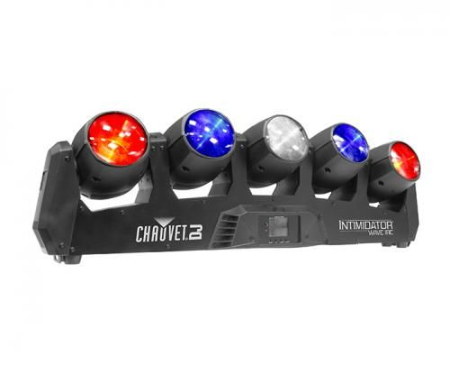 Chauvet Intimidator Wave IRC RGBW 5 x Moving Head Mexican Wave Effect