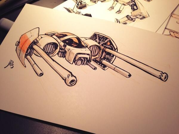 DRAWINGS by Jake Parker //