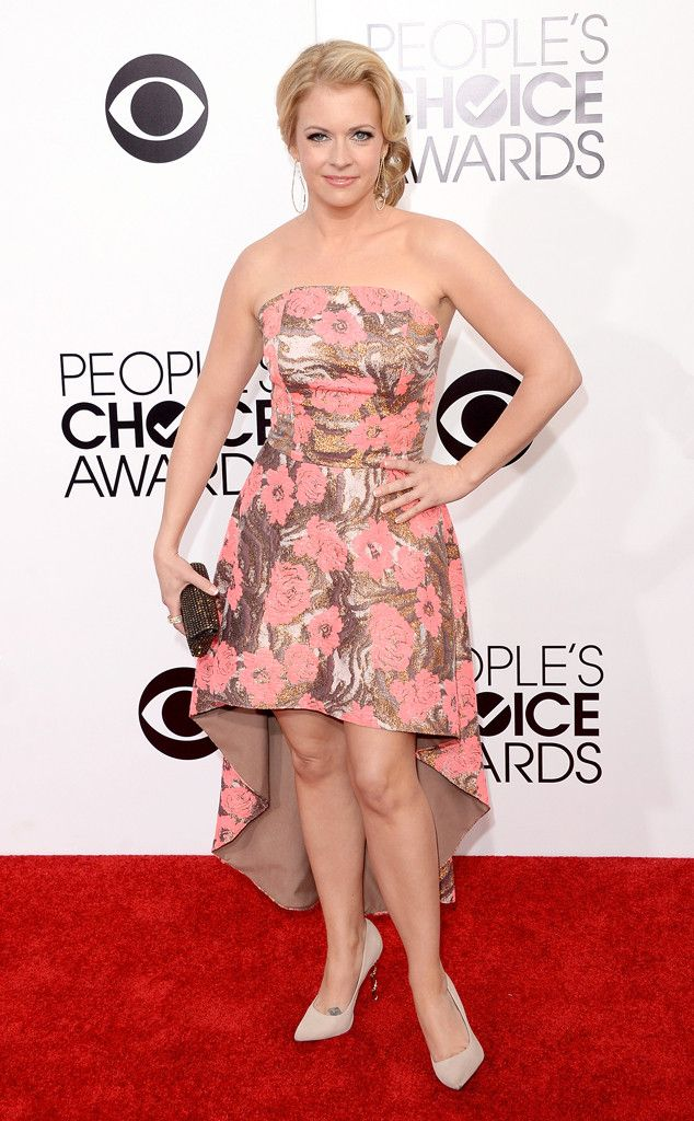 Melissa Joan Hart from 2014 People's Choice Awards Arrivals  - WORST