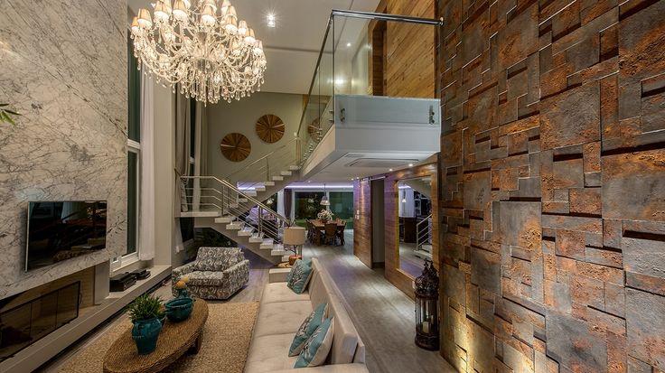 Construindo Minha Casa Clean: Iluminação de Salas Modernas - Pé Direito Duplo!