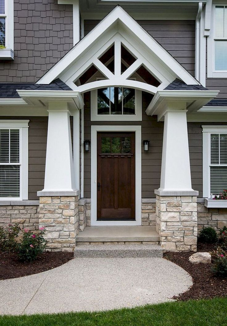 Best 25 front entrance decorating ideas on pinterest for Front gate entrance ideas