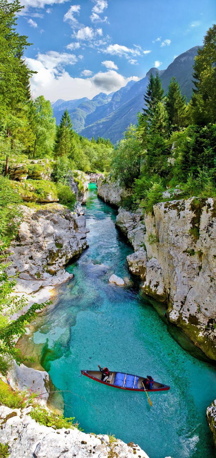 Emerald river - Soča, Slovenia