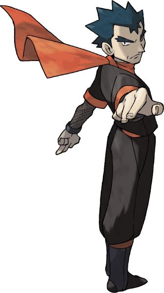 #FireRed LeafGreen Koga from the official artwork set for #Pokemon FireRed & LeafGreen on the #GameBoyAdvance. http://www.pokemondungeon.com/pokemon-firered-and-leafgreen-versions
