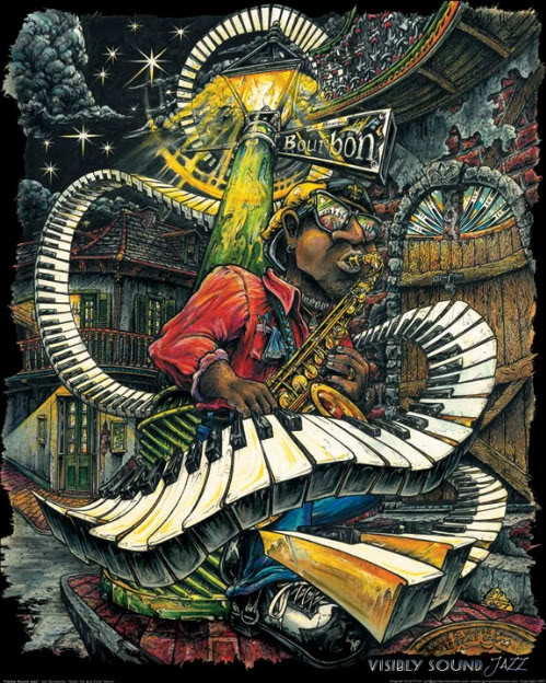 New Orleans artist Jon Guillaume ☆ Love ☆ ❤♔Life, likes and style of Creole-Belle ♥
