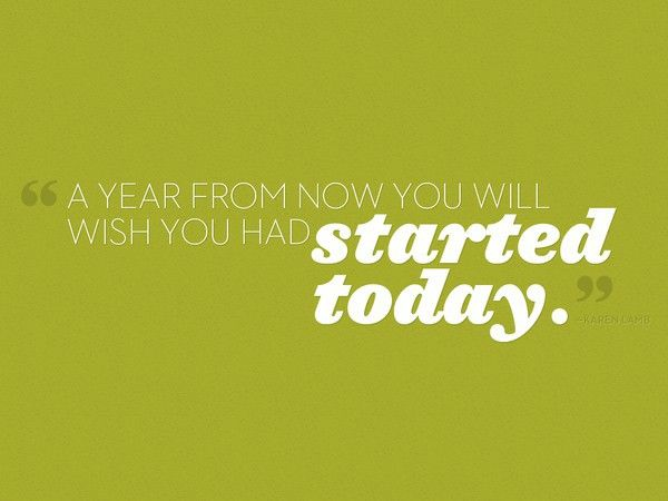 No better time than now. www.facebook.com/wellnesspluswealth