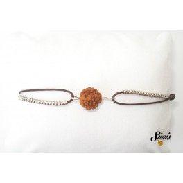 Rudraksha string bracelet