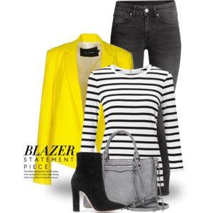 Yellow Blazer 2926