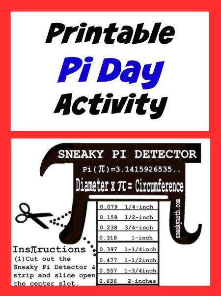 199 Best Pi Day Images On Pinterest Teaching Math Math Teacher
