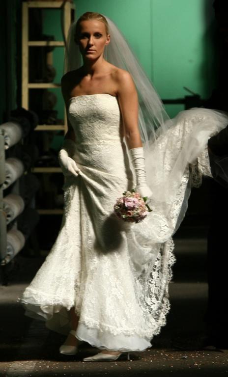 SAN PATRICK Piękna Suknia Ślubna, r. 36