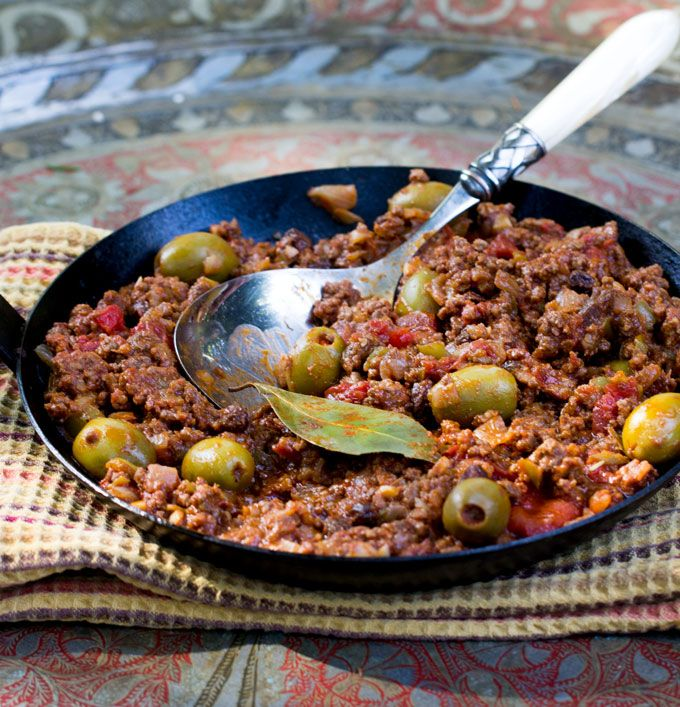 Cuban Picadillo is a bold, flavorful ground beef stew that makes a quick and delicious dinner the whole family will love. Serve with white rice or mashed potatoes.