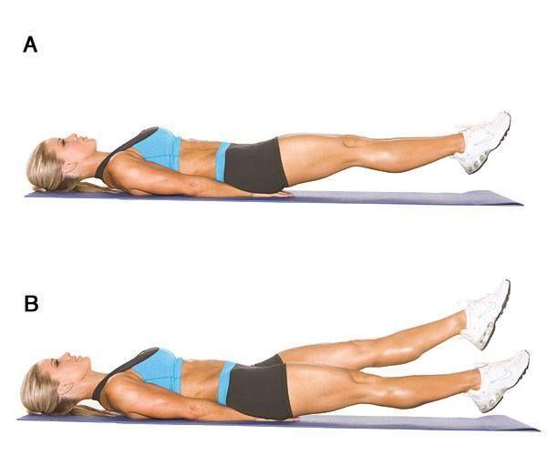 Adelgazar 20 abdominales inferiores