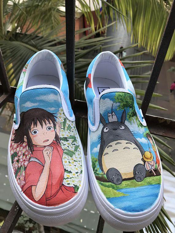 Anime Vans chaussures de mon voisin Totoro Anime Chihiro
