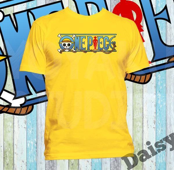 Kaos Logo One Piece