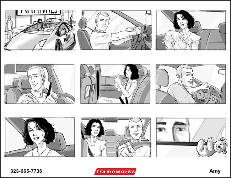 Best Story Board Images On   Storyboard Sketches And