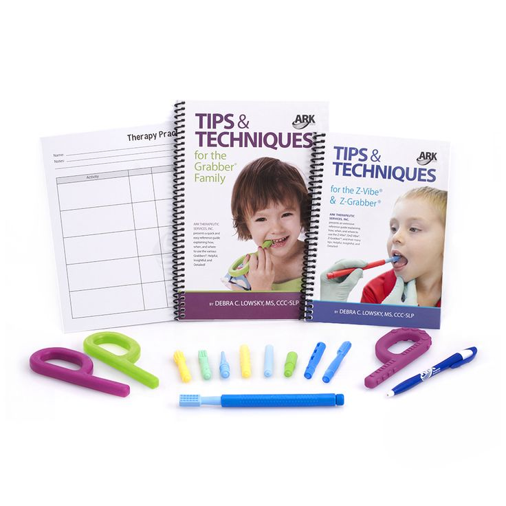 ARK's Oral Motor Workout Kit | Z-Vibe Kits | ARK Therapeutic                                                                                                                                                                                 Más