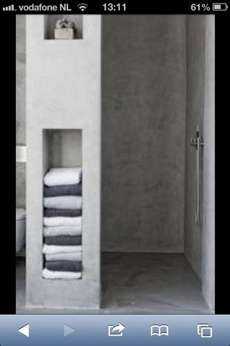Cement Stucen Badkamer ~ Stucen badkamer (tadelakt)