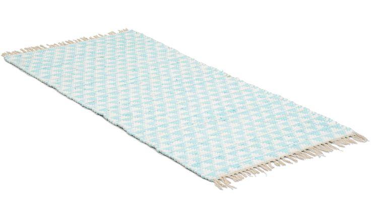 Tivoli ljusblå - trasmatta
