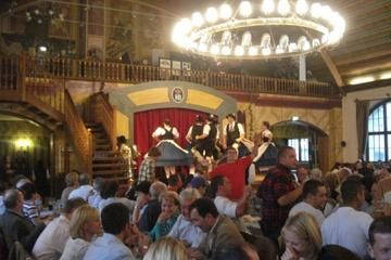 Nightlife experience at Hofbrauhaus. At the world famous Hofbrauhaus you will be treated to an evening of Bavarian entertainment with music, a show and dinner. ($90.00)