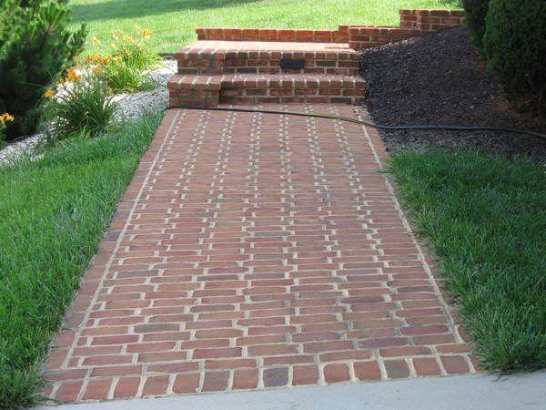 best 25+ brick sidewalk ideas on pinterest | brick pathway, brick