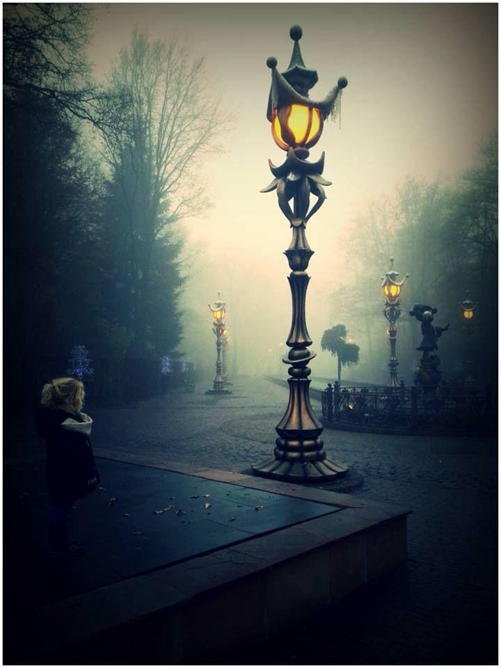 Beautiful lamp post, Efteling theme park, Netherlands