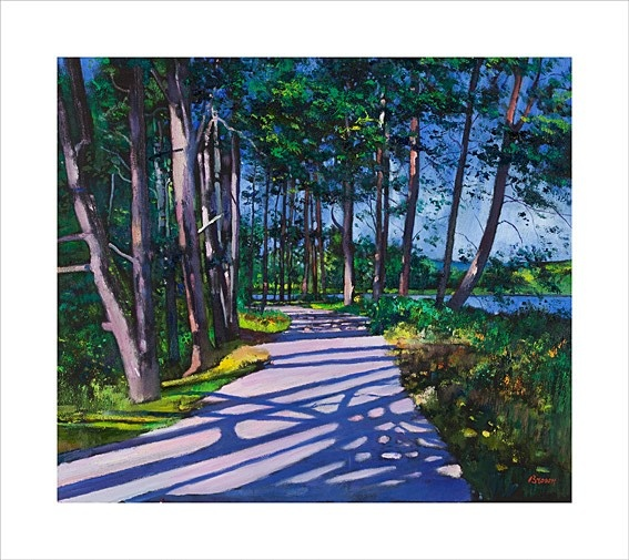 Art Prints Gallery - Avenue Of Pines (Limited Edition), £135.00 (http://www.artprintsgallery.co.uk/Davy-Brown/Avenue-Of-Pines-Limited-Edition.html)