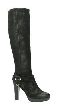 SPM zwarte hoge hakken laarzen