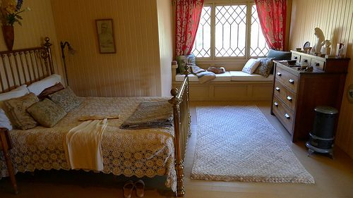 Charmian London's Bedroom