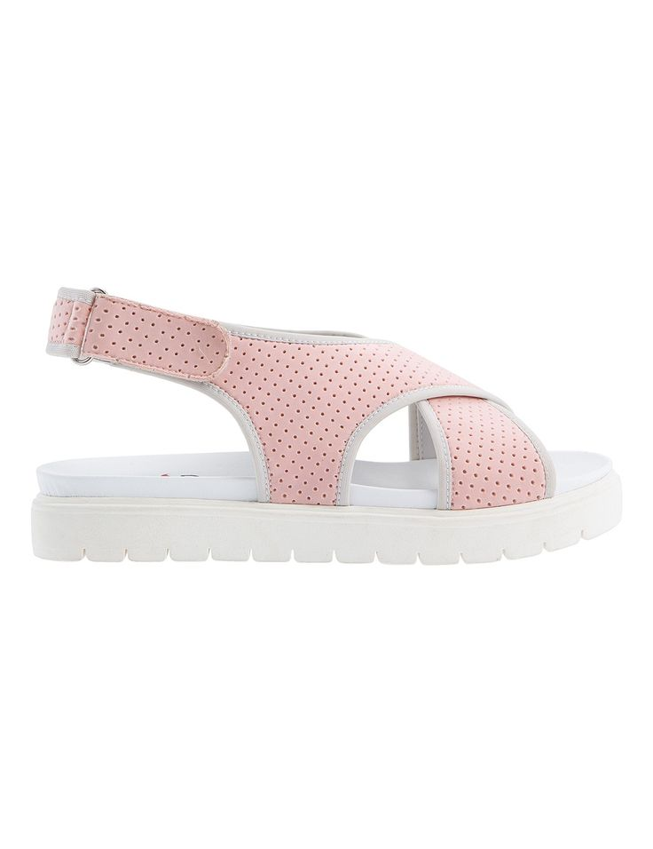 Holly Pink Sandals S/S 2015 #Fred #keepfred #shoes #collection #neoprene #fashion #style #new #women #trends #pink #sandals