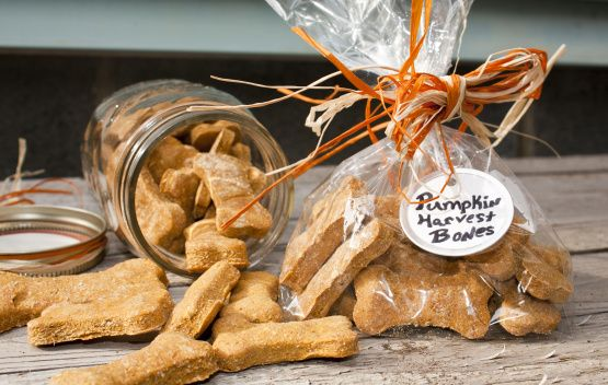 Posted this recipe by request. Dogs love these dog treats! I cant remember how many treats this recipe makes, so I just guessed.