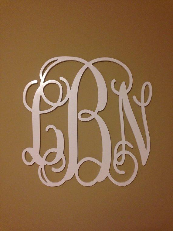 Best 25 Wooden Monogram Letters Ideas On Pinterest