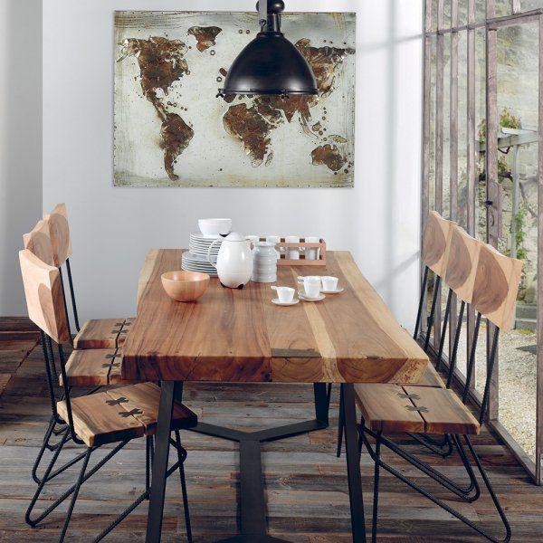 Les 996 meilleures images concernant salle manger dining room sur pinterest for Photos de decoration eclectique ethnique chics