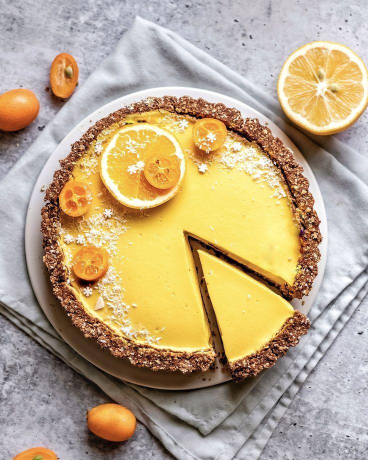 Coconut Lemon Tart Recipe Pie Tarts In 2019 Tart Recipes