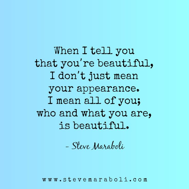 I Love You More Than Quotes: Best 25+ You Are Beautiful Quotes Ideas On Pinterest